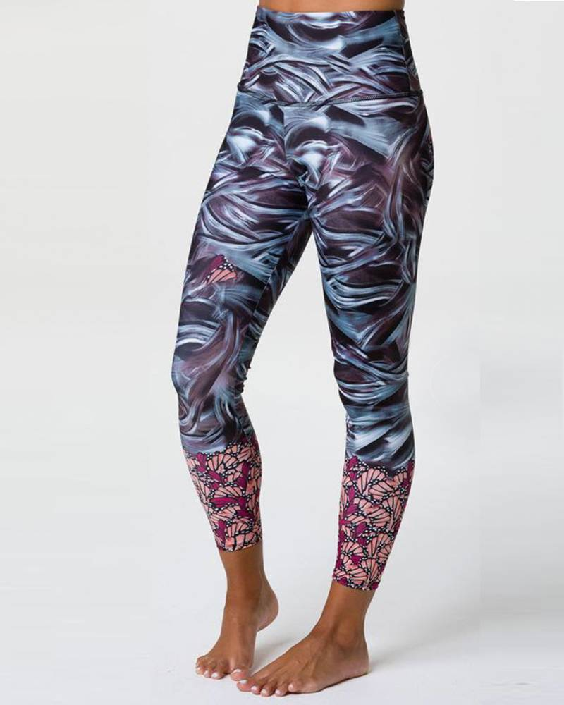 Onzie Mother Nature Graphic High Rise Midi
