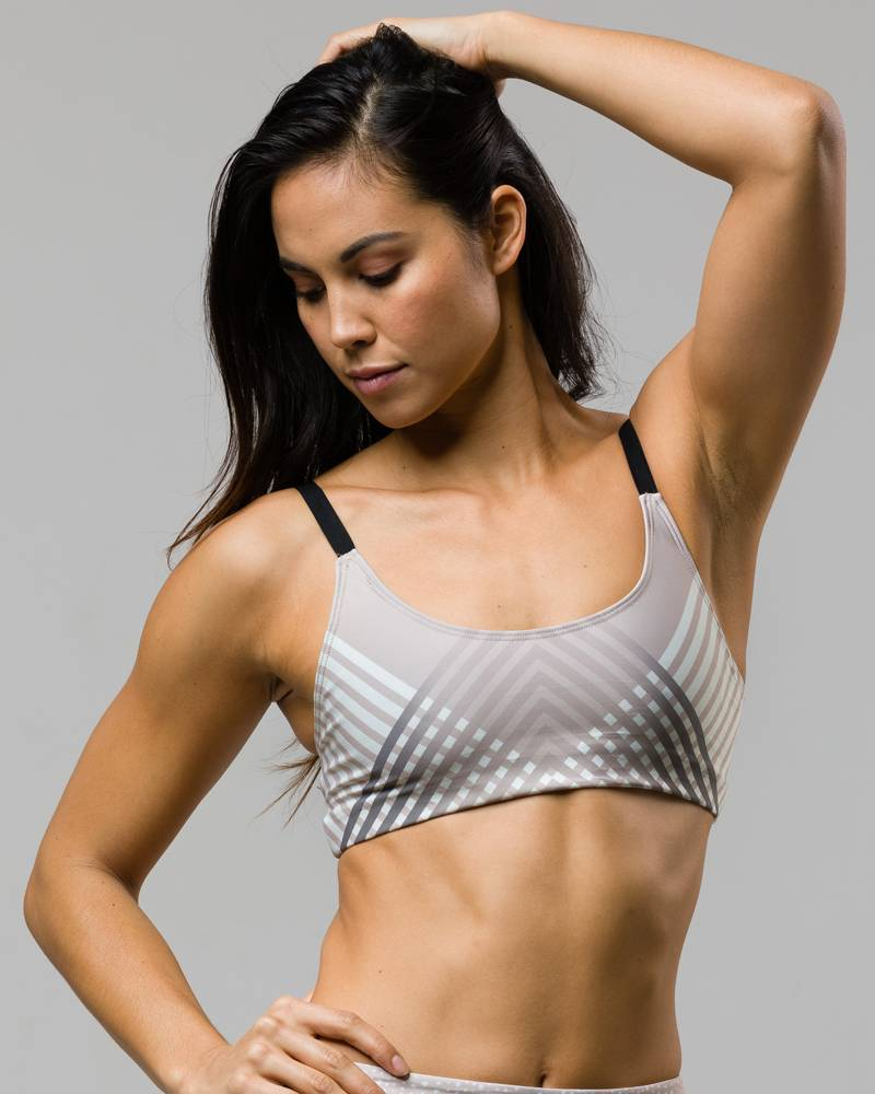 Onzie Luxe Elastic Graphic Bra Top
