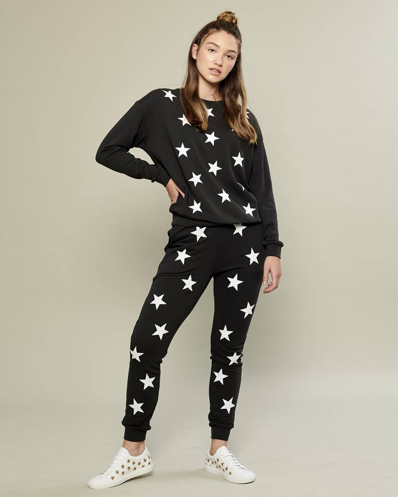 South Parade Super Star Black Sweatpant