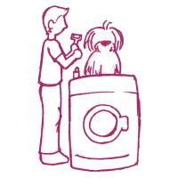 Étape 1 d'un démêlage facile pour chien et chat à poil long
