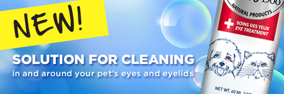 new product! solution for eyes cleaning