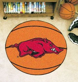 Fan Mats Razorback Basketball Floor Mat