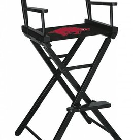 Arkansas Razorbacks Tall Directors Chair - Black