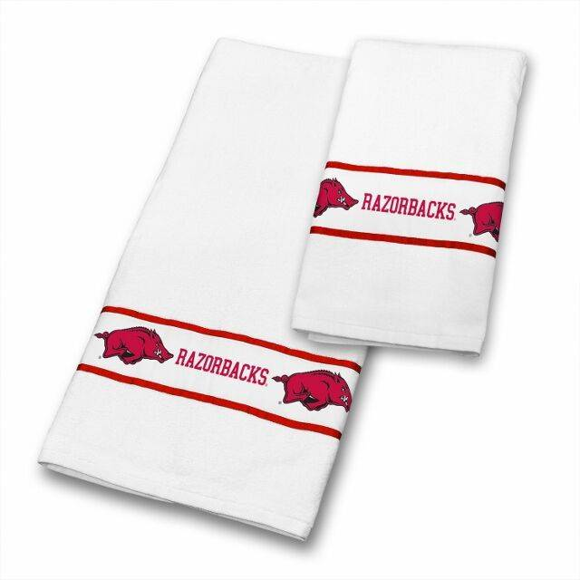 Arkansas Razorback Bath Towel Set The Stadium Shoppe On