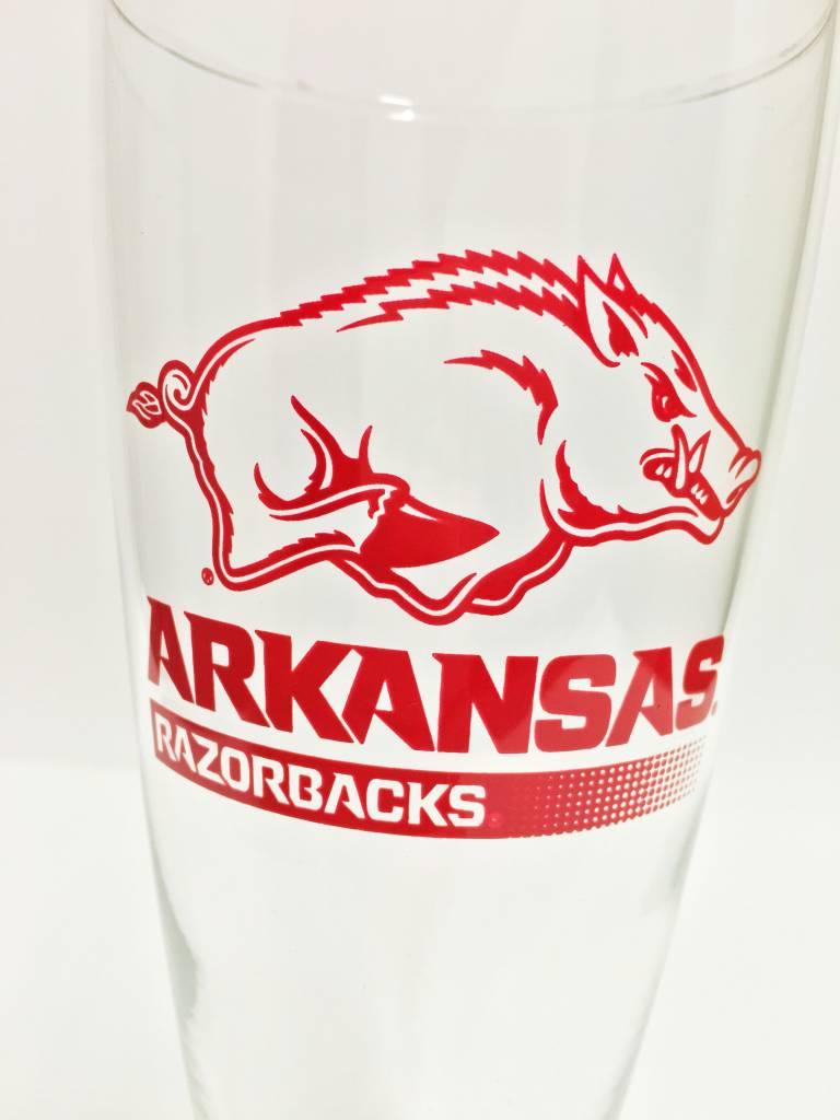 20 Oz Arkansas Razorbacks Pilsner Glass The Stadium
