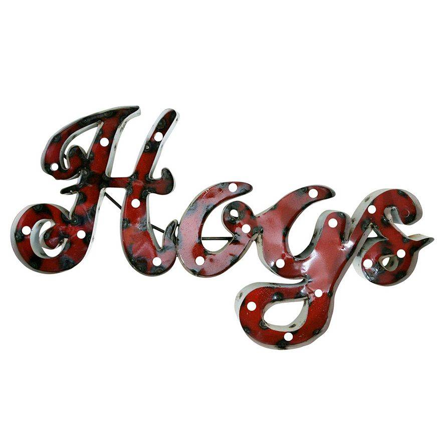 Arkansas Razorbacks Hogs Lighted Wall Sign Art The