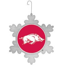 Arkansas Snowflake Ornament