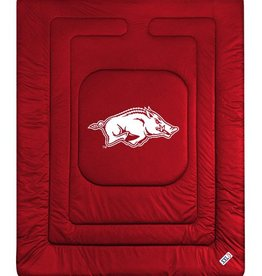 "Sports Coverage Arkansas Razorback ""Locker Room"" Comforter By Sports Coverager"