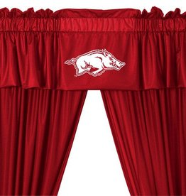 Arkansas Razorback Window Valance