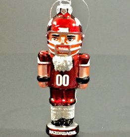 Topperscot Arkansas Razorback Nutcracker Ornament