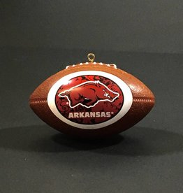 Topperscot Arkansas Razorback Football Christmas Ornament