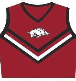 Little King Arkansas Razorbacks Cheerleader Outfit Style 316