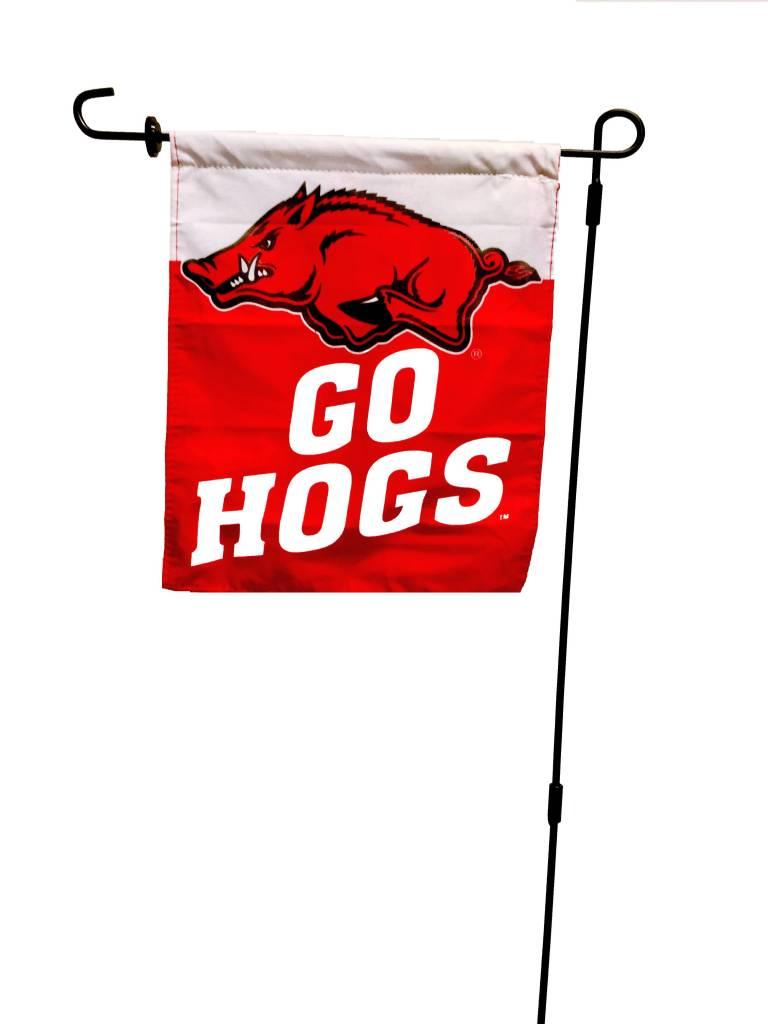 Arkansas Razorbacks Go Hogs Car Flag By University Blanket