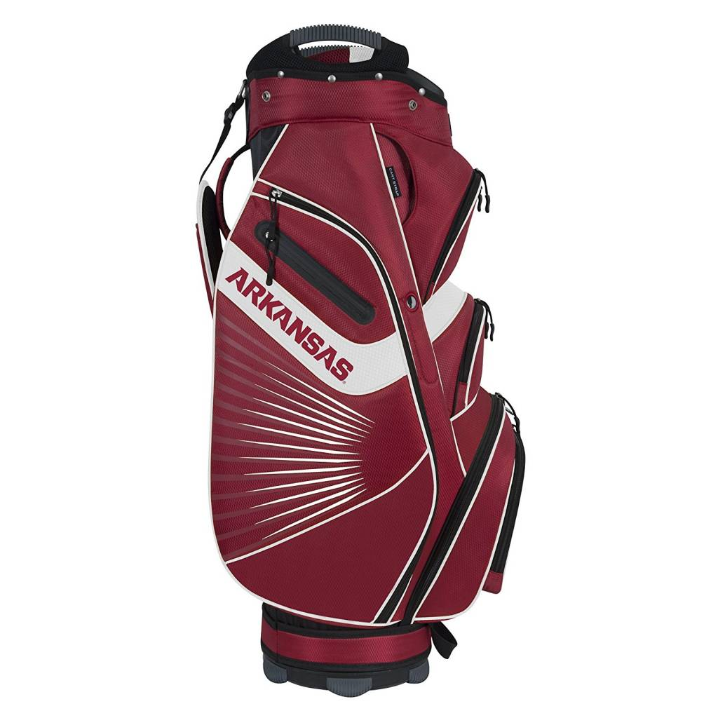 Arkansas Razorback Bucket Ii Cooler Cart Golf Bag The