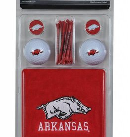 Arkansas Razorback Golf Gift Set