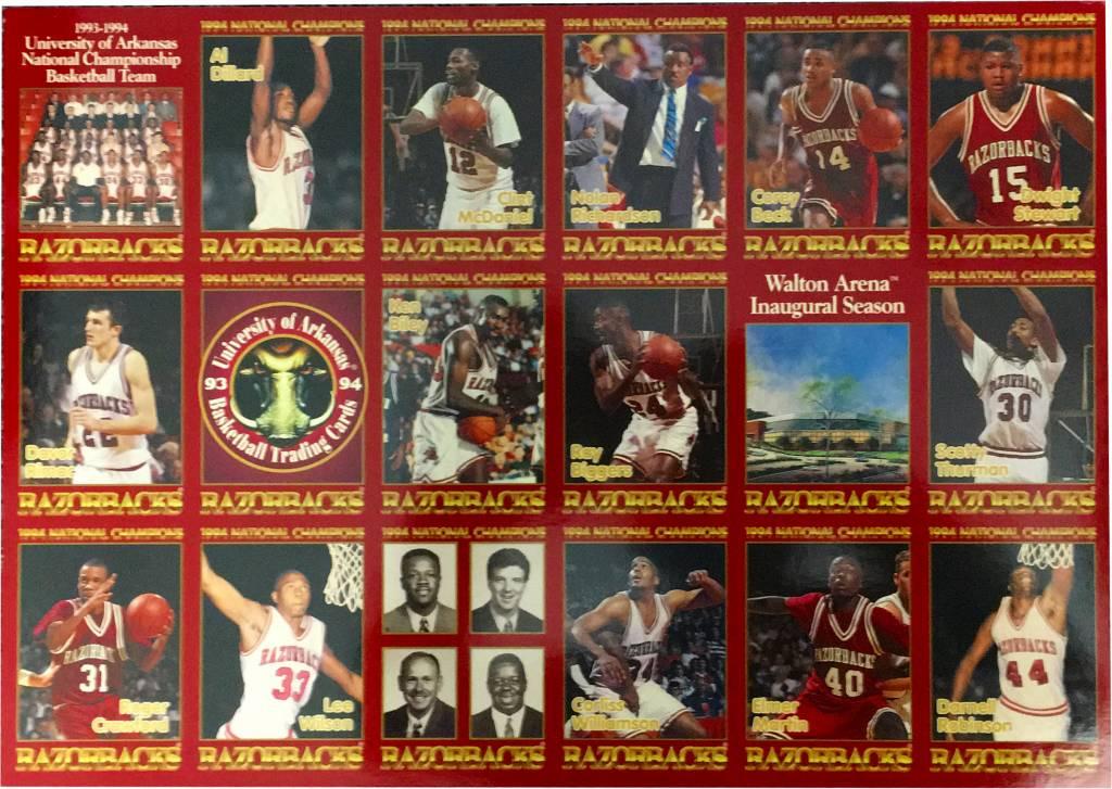 1994 Arkansas Razorback Ncaa Basketball Champion Uncut