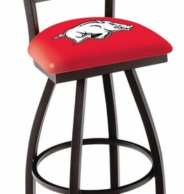 "Arkansas Razorbacks 30"" Bar Stool W Back"