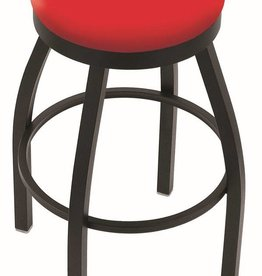 "Holland Bar Stool 30"" Bar Stool Black"