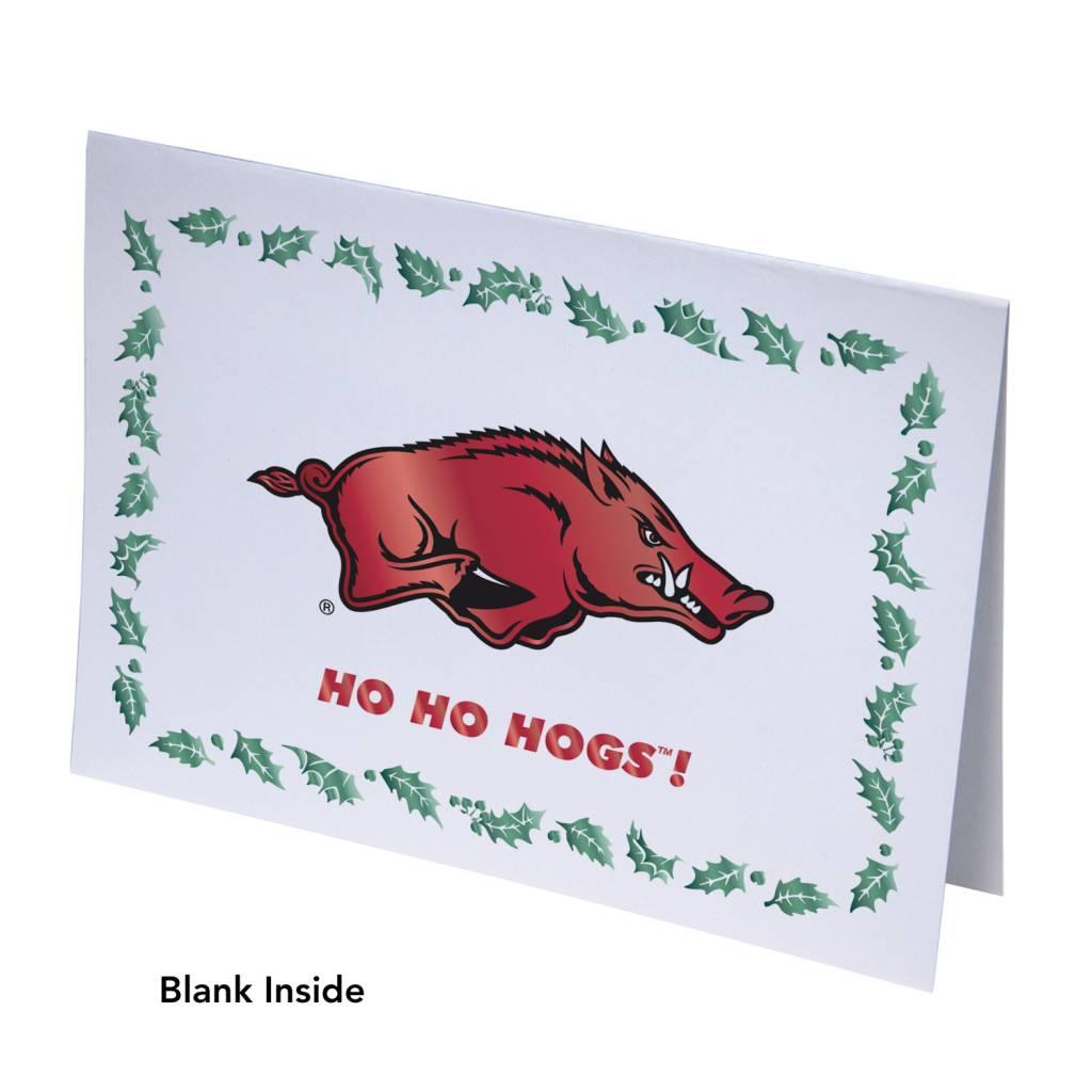Ho Ho Hogs! Arkansas Razorback Christmas Cards - The Stadium Shoppe ...