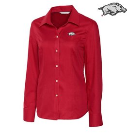 Cutter & Buck Ladies card L/S Epic Easy Care Nailshead
