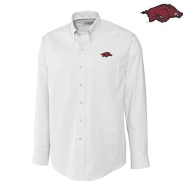 Cutter & Buck Men's L/S Epic Easy Care Nailshead White