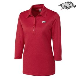 Cutter & Buck Arkansas DryTec 3/4 Sleeve Chelan Polo