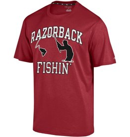 Champion Arkansas Razorbacks Fishin' Sport Graphic