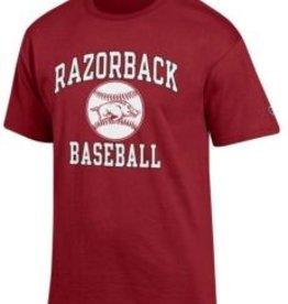 Champion Arkansas Razorbacks Baseball Graphic Tee