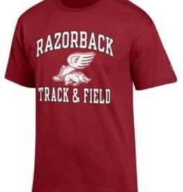 Champion Arkansas Razorbacks Track & Field Tee