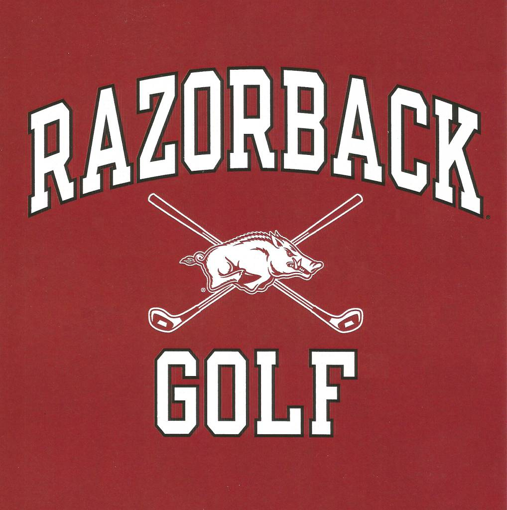 Arkansas Razorbacks Golf Tee By Champion Part Of The