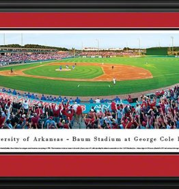 Blakeway Panorama DS Razorback Baseball Stadium Panorama Print