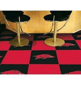 Fan Mats Razorback Carpet Tile