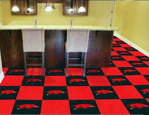Arkansas Razorback Carpet Tile The Stadium Shoppe On