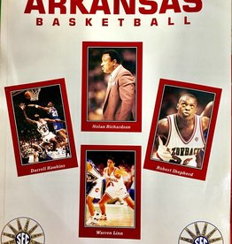 RM 1992-93 Razorback Basketball Media Guide