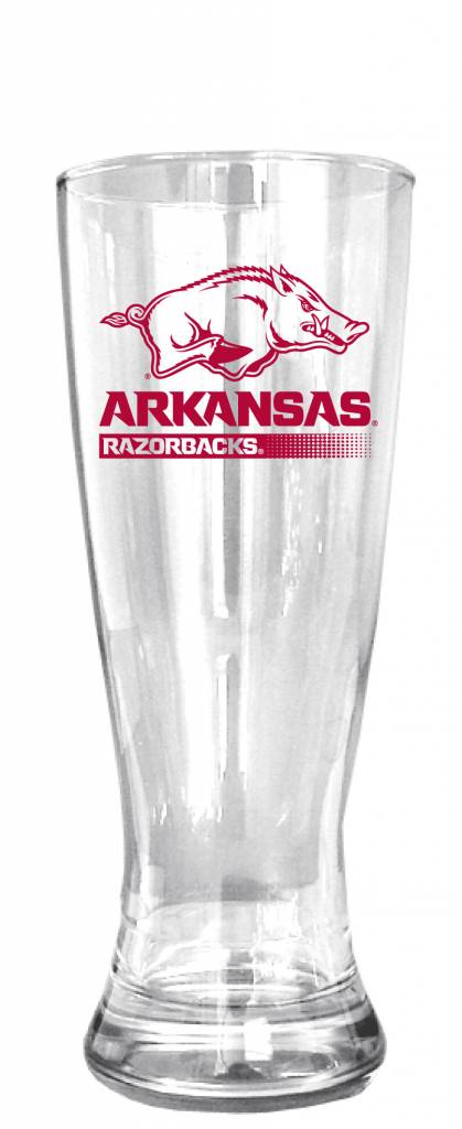 20 Oz Arkansas Razorbacks Pilsner Glass The Stadium