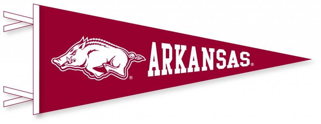 Arkansas Razorback 9x24 Felt Pennant By Collegiate Pacific