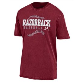 Gear For Sports Ultra Soft Razorback Baseball Outta Town Tee