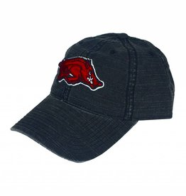 Arkansas Razorback Running Hog Slub Cap/Hat