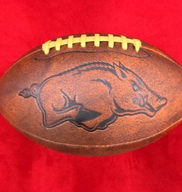 Game Master Razorback Official Size Vintage Football