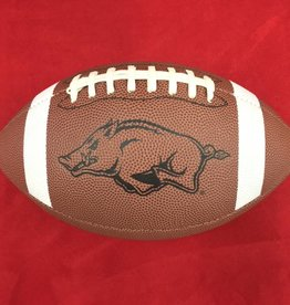 Game Master Razorback Official Size Xcel Gold Football