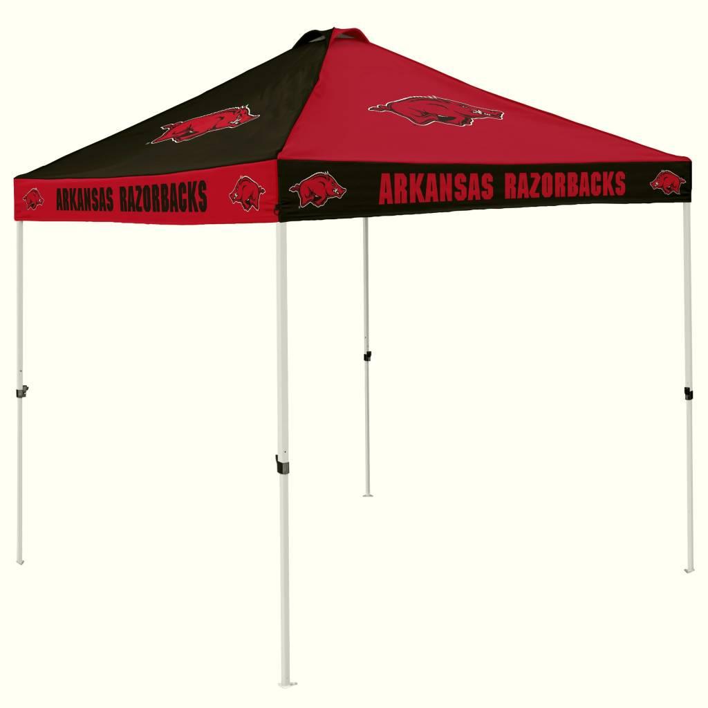 Arkansas Razorback Checkerboard Tailgate Tent