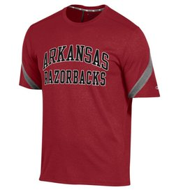 Champion Razorback Men's Epic Stripe Cardinal & Active Grey