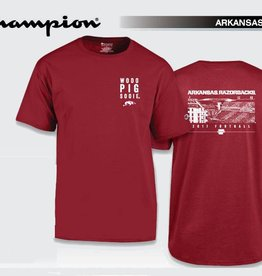 Champion Arkansas Razorback 2017 Fan Tee