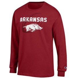 Champion Arkansas Razorback Football Gel LST