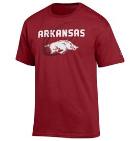 Champion Arkansas Razorback Football Gel SST
