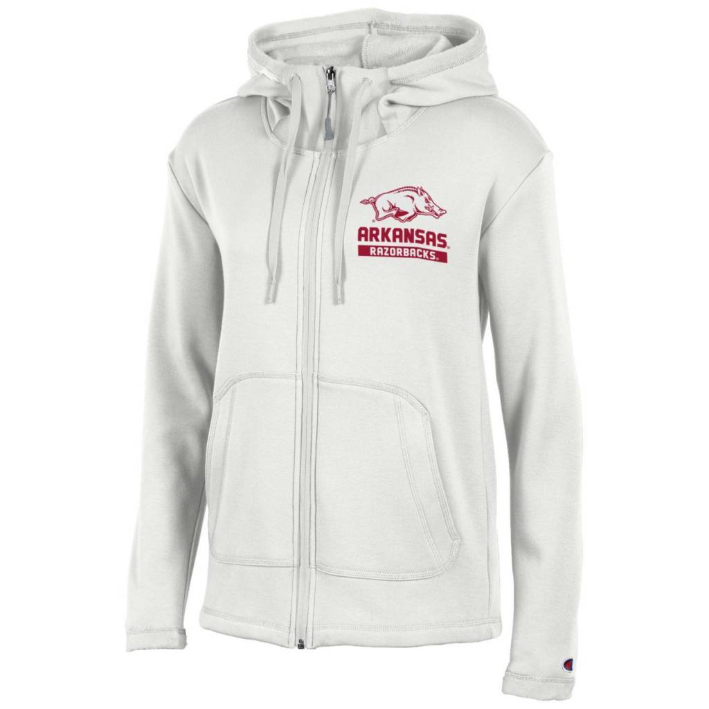 Champion Arkansas Razorback Women's Campus 4.0 Hoodie Jacket