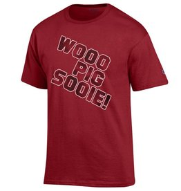 Champion Razorback Wooo Pig Sooie SST