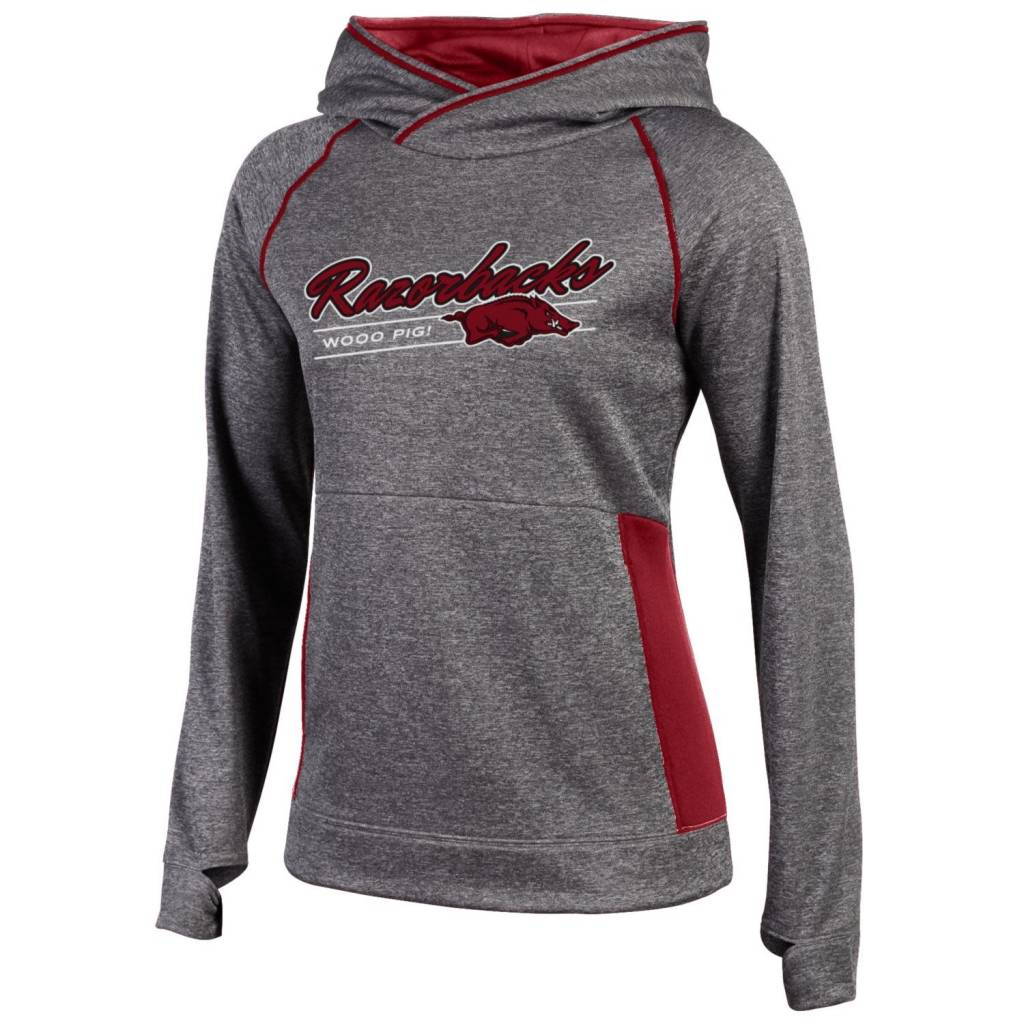 Arkansas Razorback Women's Unlimited Fleece Hood