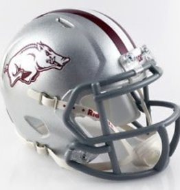 Riddell Razorback Jerry Jones Mini Tribute Helmet