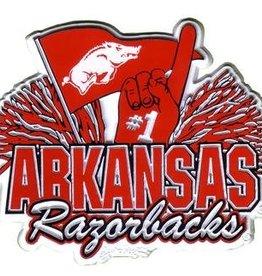 Jenkins Arkansas Razorback #1 Pom Fridge Magnet